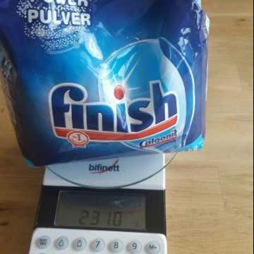 2x 3kg Finish Power Pulver Geschirrspüler