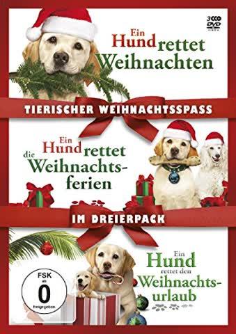 Tierischer Weihnachtsspaß - Ein Hund rettet Weihnachten & Ein Hund rettet die Weihnachtsferien & Ein Hund rettet den Weihnachtsurlaub [3 DVDs]