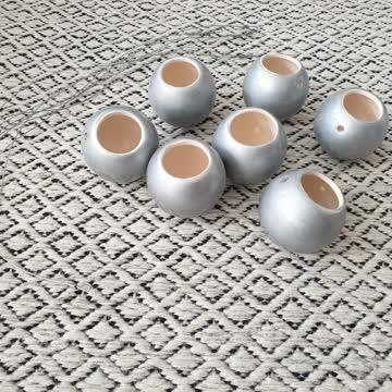 8 Neue deko aufhänge Vasen kugel