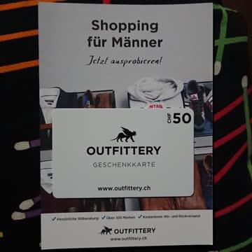 50.- Gutschein von Outfittery