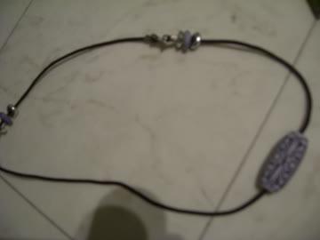 Halskette selbstgemacht, mit Verschluss