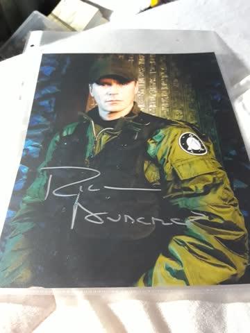 Originalautogramm von Stargate SG-1