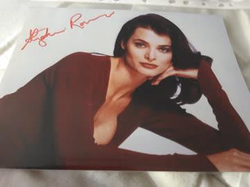 Originalautogramm aus Angel/Stephanie Romanov