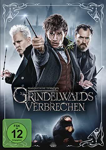 Phantastische Tierwesen - Grindelwalds Verbrechen [DVD] [2018]