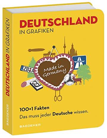 Baedeker 100+1 Fakten Das muss jeder Deutsche wissen: Deutschland in Grafiken