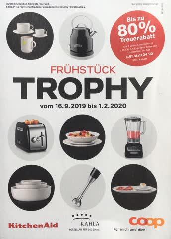 1 Sammelkarte - Coop Trophy