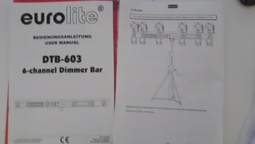 Eurolite 6 Channel Dimmer Bar