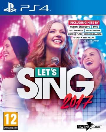 Ravenscourt Let's Sing 2017 (PS4) - Englische Hits