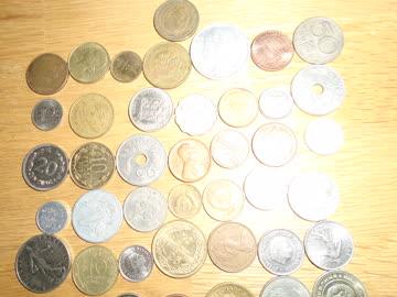 71 Münzen ausländische inkl. paar schweizer 1 Räppler