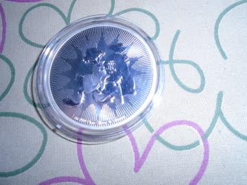 1 Unze Silber Münze Dagobert ANLAGEWERT!