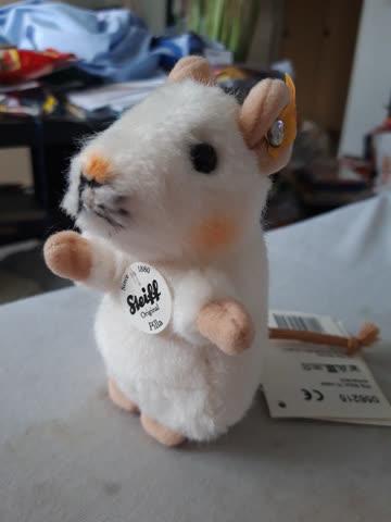 Kuscheltier Steiff Maus Pilla weiss