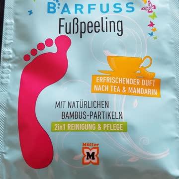 Barfuss Fusspeeling - siehe Foto