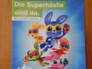 1 Migros Superhäsli Sticker