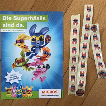 Migros Stickers