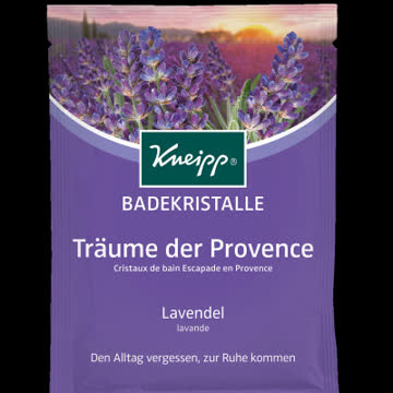 "Kneipp Badekristalle ""Träume der Provence"""