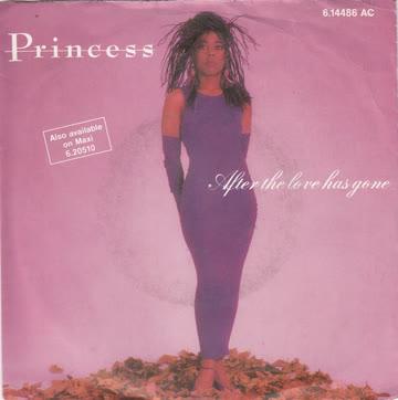 Princesse - After love has gone (Vinylsingle 1985)