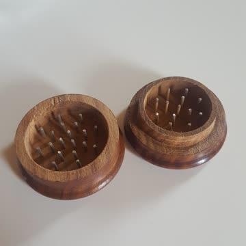 Neuer Grinder Holz Tabakzerkleinerer
