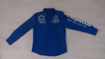 Blaues Hemd Langarm es wurde 1 mal getragen Grösse M