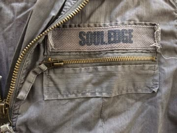Freizeitjacke von Soul Edge, Farbe Kaki, Grösse XL