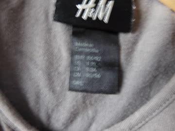"""Trikotkleidchen Gr. 86/92 """"H & M"""" dunkeloliv"""