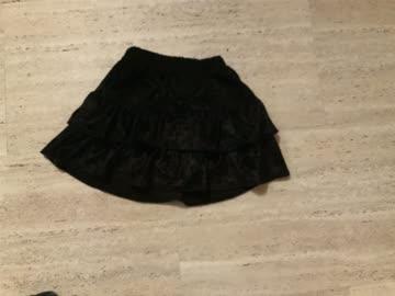 Schwarzes Röckchen, ca.Grösse 80