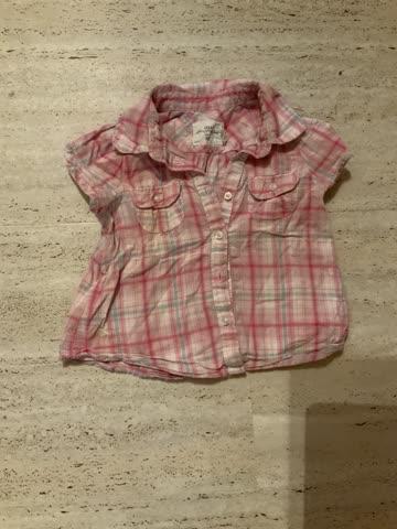 Schicke Bluse, Grösse 80