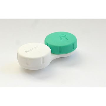 Linsenbehälter für weiche + harte Kontaktlinsen