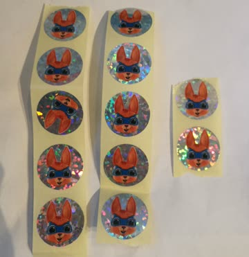 12 Superhäsli Sticker