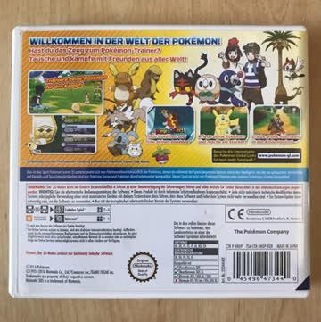 Pokemon Sonne Nintendo 3DS