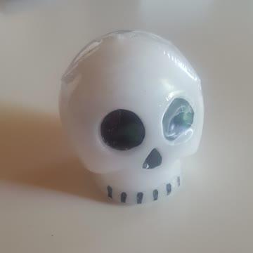 Totenkopfkerze Kerze Totenkopf Skull
