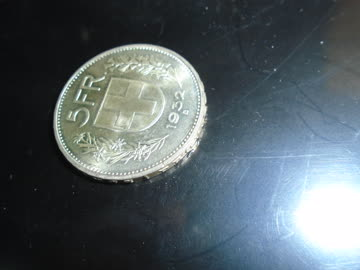 5 Franken Silber 1932
