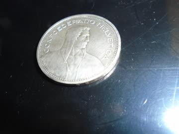 5 Franken Silber 1966