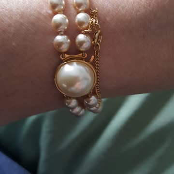 Modeschmuck Perlenarmband