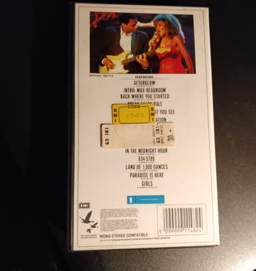 Tina Turner - Break Every Rule VHS