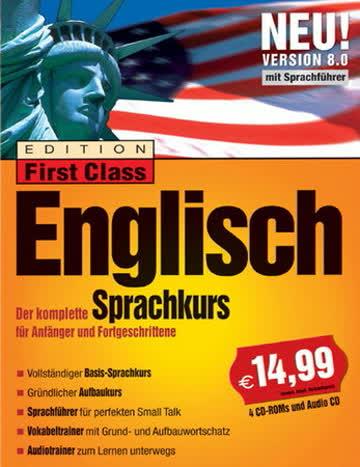 First Class Sprachkurs Englisch 8.0