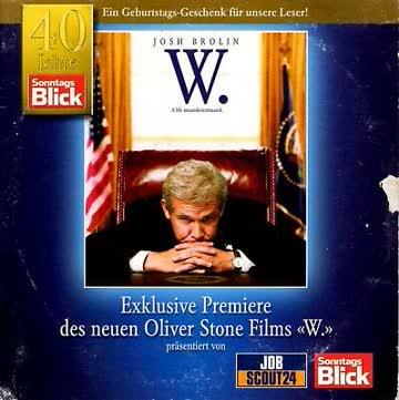 DVD W. - Ein missverstandenes Leben / Sonntags Blick Edition