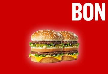 2 Big Mac fuer 9.90!