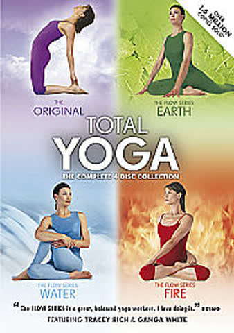 Total Yoga the complete 4 Disc collection