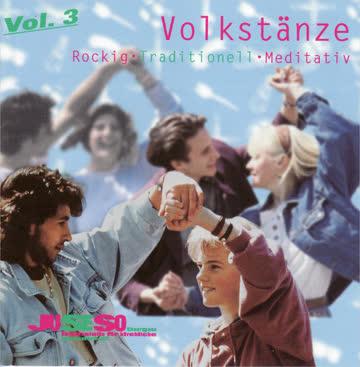 CD Volkstänze rockig – traditionell – meditativ – 3