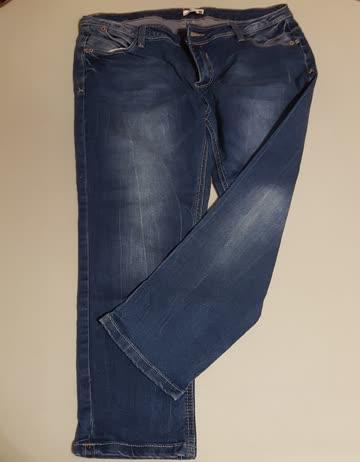 Jeans dunkel 3/4