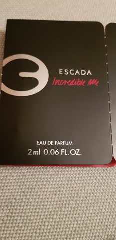 Parfum muster Escada