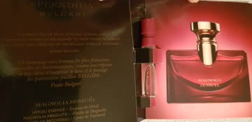 Parfum muster Bvlgari