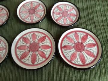 Glasuntersetzer Keramik