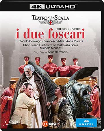 Verdi: I Due Foscari [Teatro alla Scala, 2016] [4K/Ultra HD] [Blu-ray]