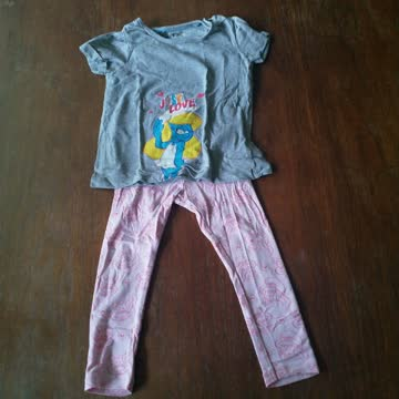 Pyjama Schlumpfine