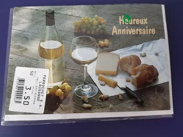 Geburtstagskarte mit Couvert