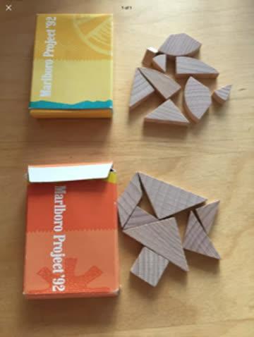 Marlboro Project Holz Puzzle