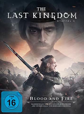 The Last Kingdom - Staffel 3. 5 DVDs