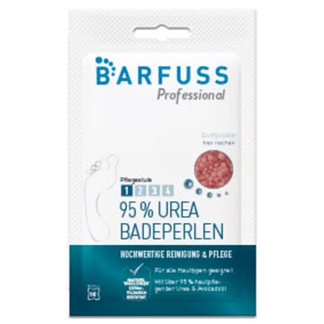 Barfuss Professional Urea Fussbadeperlen