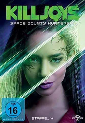 Killjoys - Space Bounty Hunters - Staffel 4 [3 DVDs]